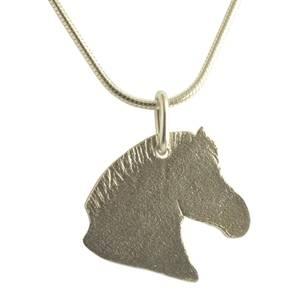 sølv hest
