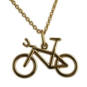 Guld mountainbike