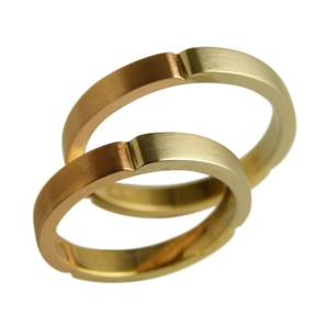 Tre farver guld