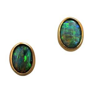 Meget smukke og intense opaler