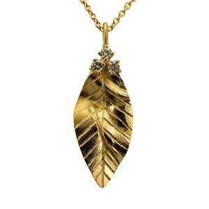 Unikt blad af guld