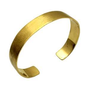 Bred armring af kundens guld