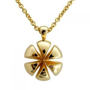 Jubilæums smykke stort guld vedhæng