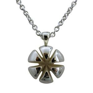 jubilæums smykke stort sølv vedhæng