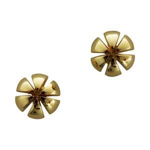 Jubilæums smykke små guld ørestikker