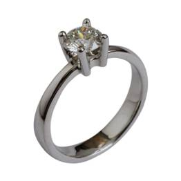stor brillant ring