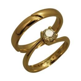 Solitære ring & klassisk herre ring