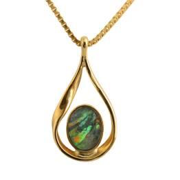 Dråbe med opal