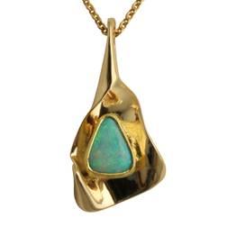 vedhæng med opal crystal