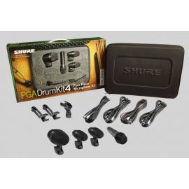 Shure PG ALTA DRUM MICROPHONE KIT 4 – THE ESSENTIAL PACKAGE