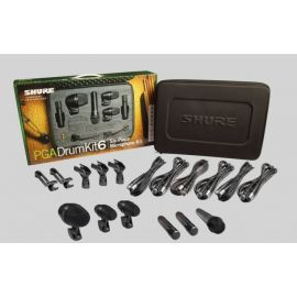 Shure PG ALTA DRUM MICROPHONE KIT 6 – THE EXTENDED PACKAGE