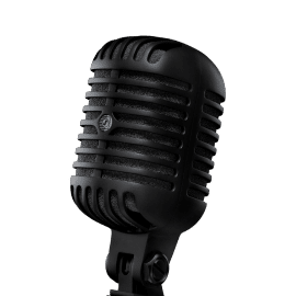 Shure SUPER 55-BLK Vocal Microphone Pitch Black Edition