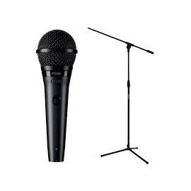 Shure PGA58 Cardioid Dynamic Vocal Microphone + Stand