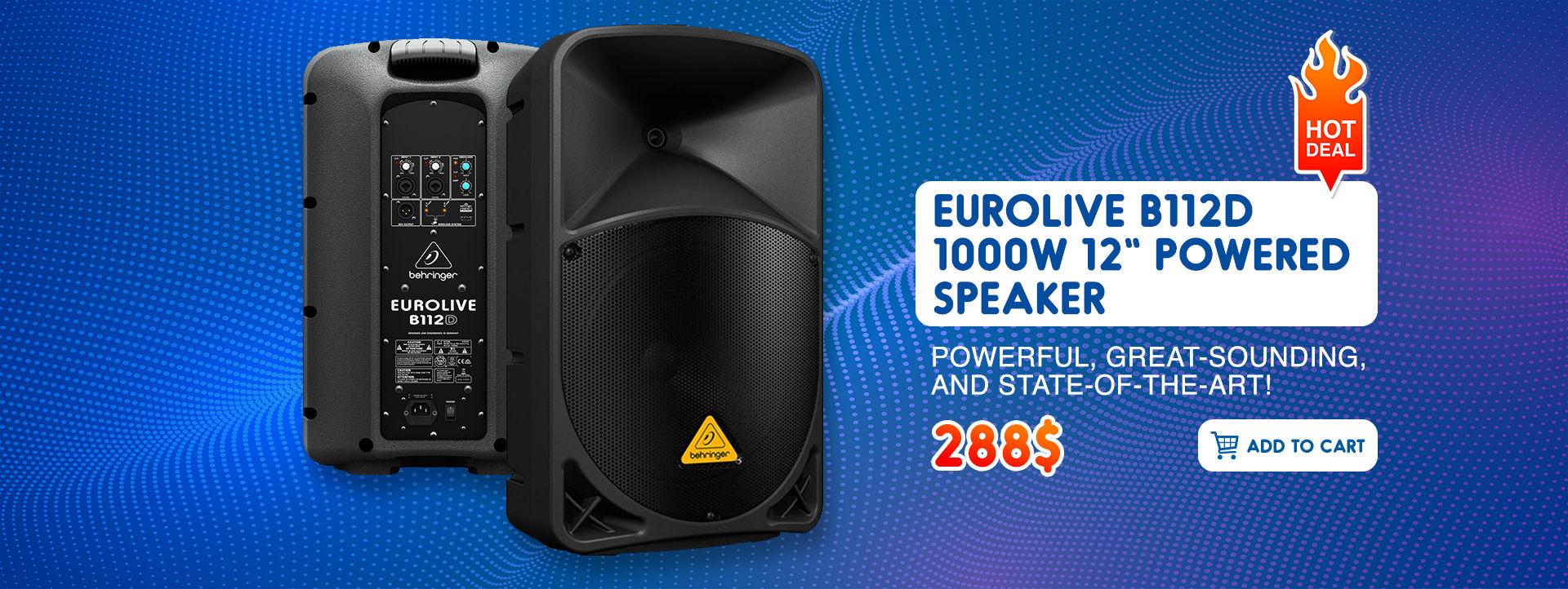 Powered-Speaker-B112-Dawzin