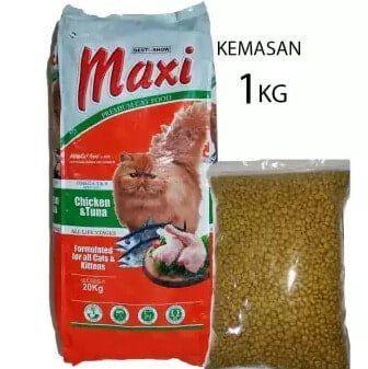 Makanan Kucing Maxi