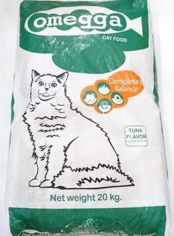 Omega cat food