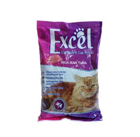 Makanan kucing murah Excel