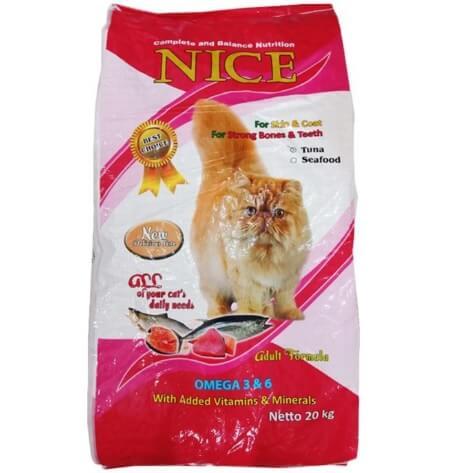 Makanan kucing Nice