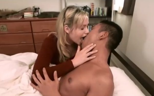 White girl Mia Malkova wants sex with asian man interracial