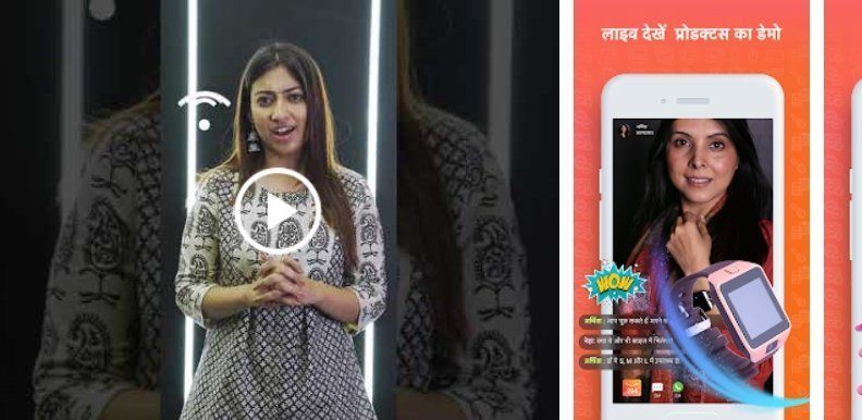 Bulbul.tv - a teleshopping app from India for mobile phones
