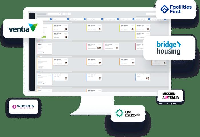 B2B integration with WorkBuddy screen illustration