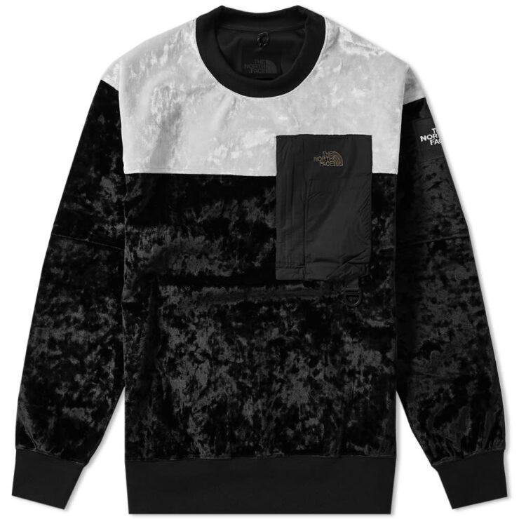 The North Face Black Series Velvet Pullover Crewneck 'Black'