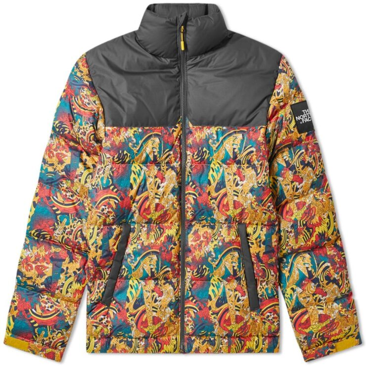 The North Face 1992 Nuptse Jacket in Yellow Genesis