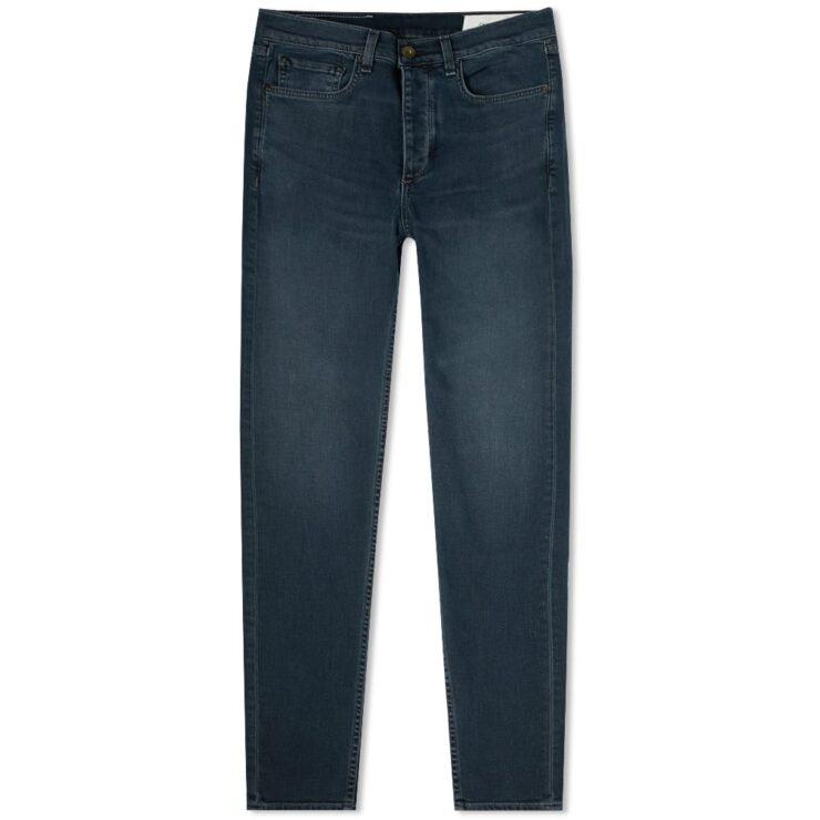 Rag & Bone Dark Blue Slim Fit Jeans Minna Wash