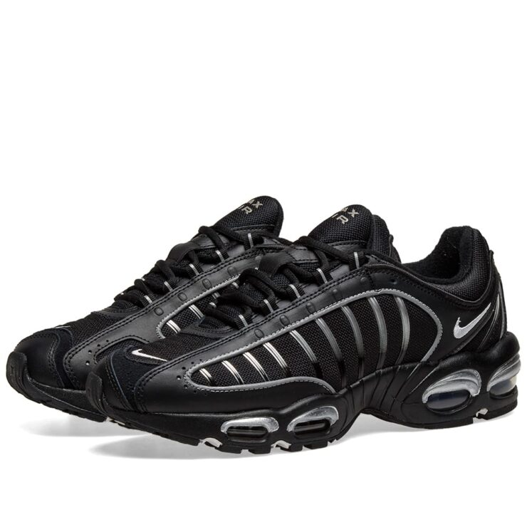 Nike Air Max Tailwind 4 Black, White and Metallic