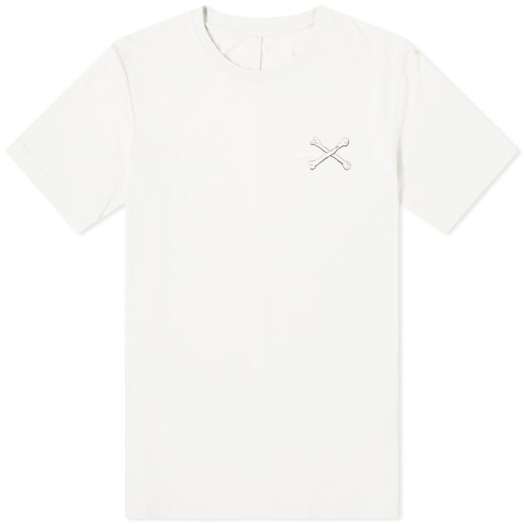 Unravel Project Bones Logo T-Shirt 'Off White'