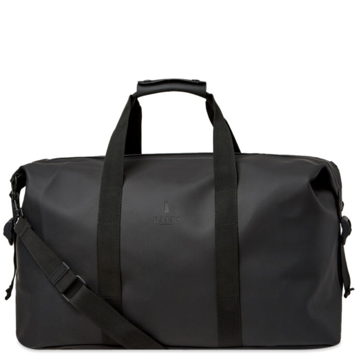 Rains Weekend Duffel Bag in Black