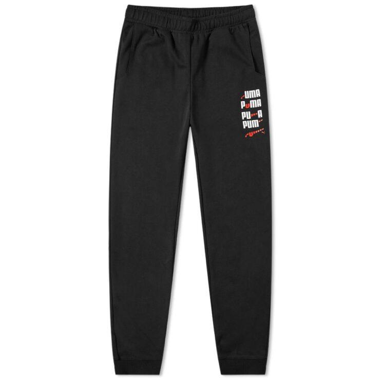 Puma x Ader Error Sweatpants in Black