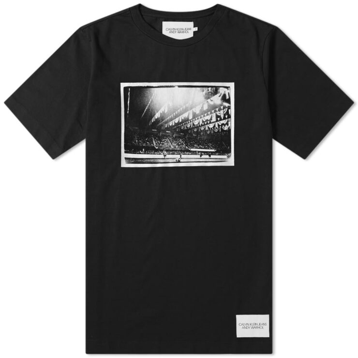 Calvin Klein x Andy Warhol Rodeo T-Shirt in Black