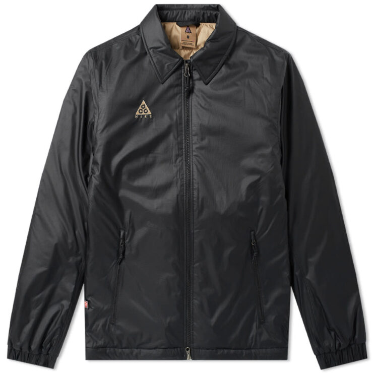 Nike ACG Primaloft Jacket in Black and Beige