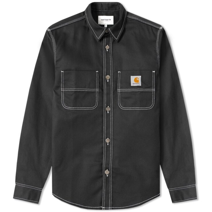 Carhartt Work in Progress Black Chalk Shirt