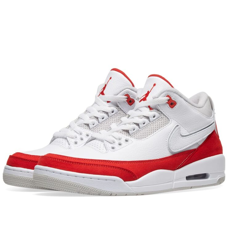 Air Jordan 3 Retro TH 'White & Red'