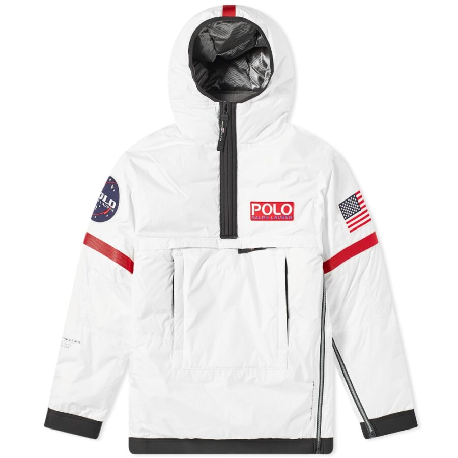 Polo 11 NASA Heated Pullover Astronaut Jacket in White