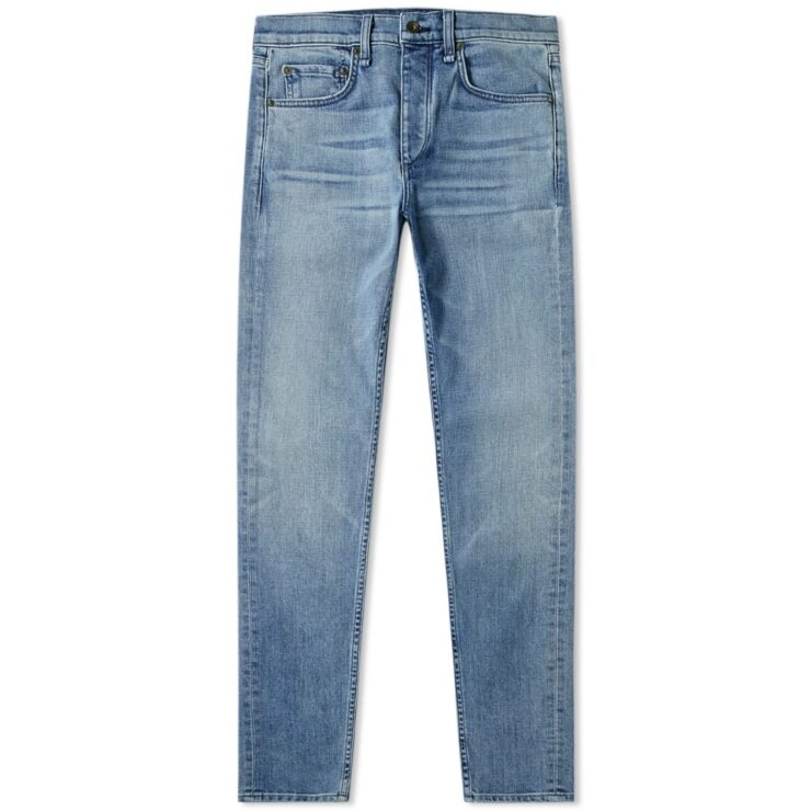 Rag & Bone Blue Ultica Wash Skinny Jeans Men