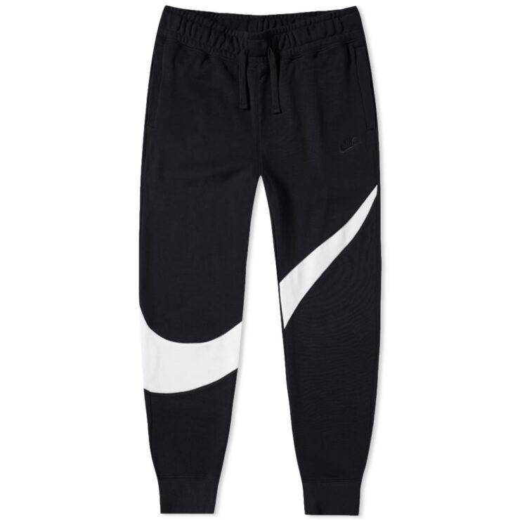 Nike Big Swoosh Joggers in Black