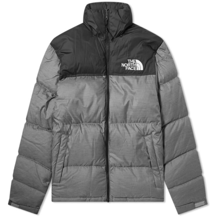 The North Face 1996 Retro Nuptse Jacket in Black and Grey
