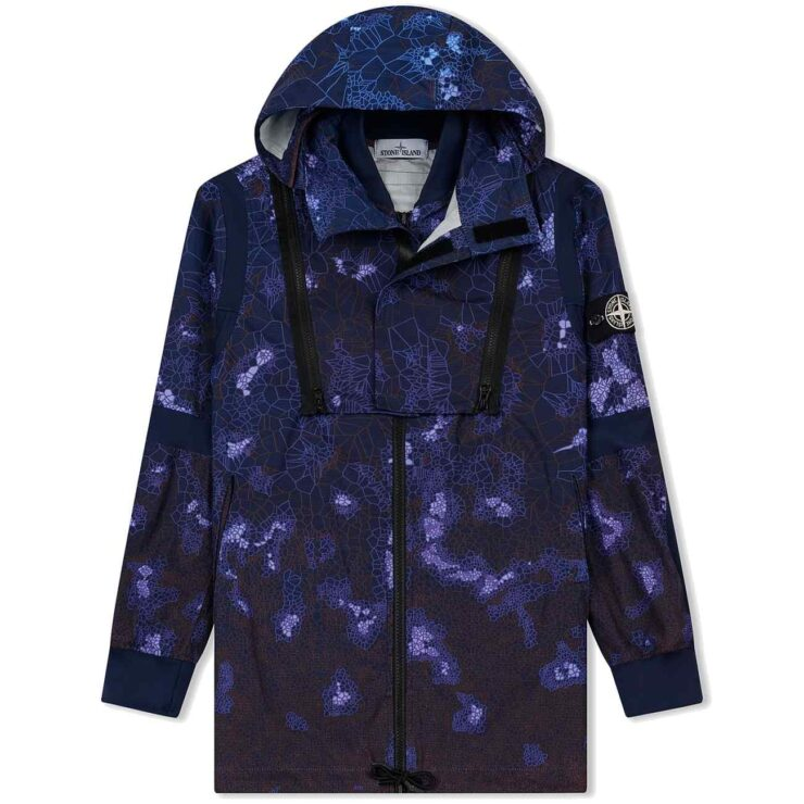 Stone Island Thermosensitive Heat-Reactive Jacket 'Navy Blue'