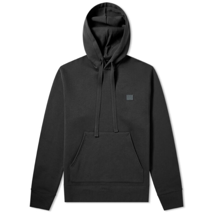 Acne Studios Ferris Face Hoodie in Black
