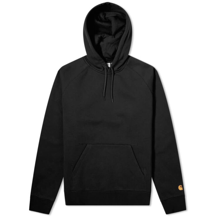 Carhartt Chase Sweat Hoody 'Black'