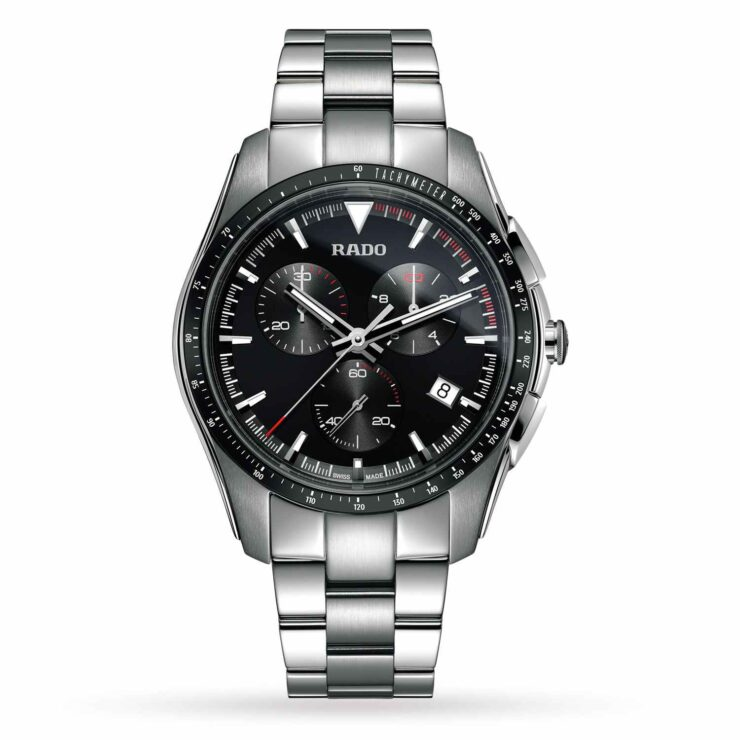 Rado HyperChrome 45mm Watch 'Grey & Black'