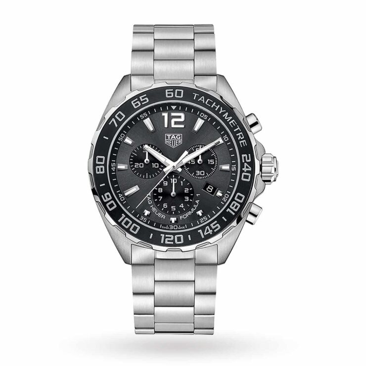 TAG Heuer Formula 1 43mm Watch 'Grey & Black'