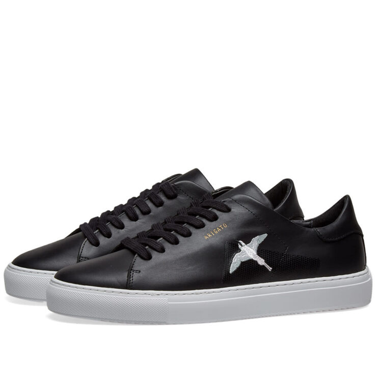Axel Arigato Clean 90 Taped Bird Sneakers in Black