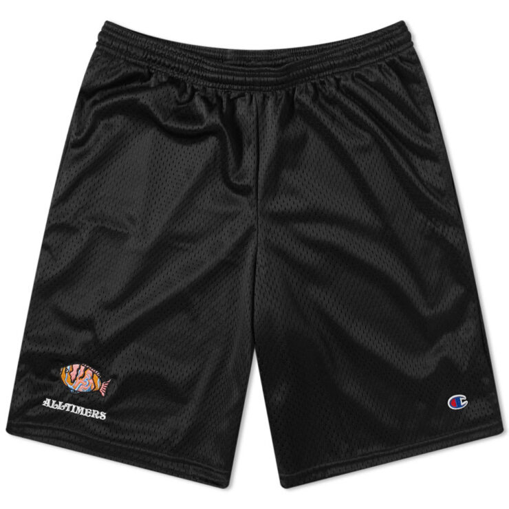 Alltimers x Champion Deep Sea Shorts in Black
