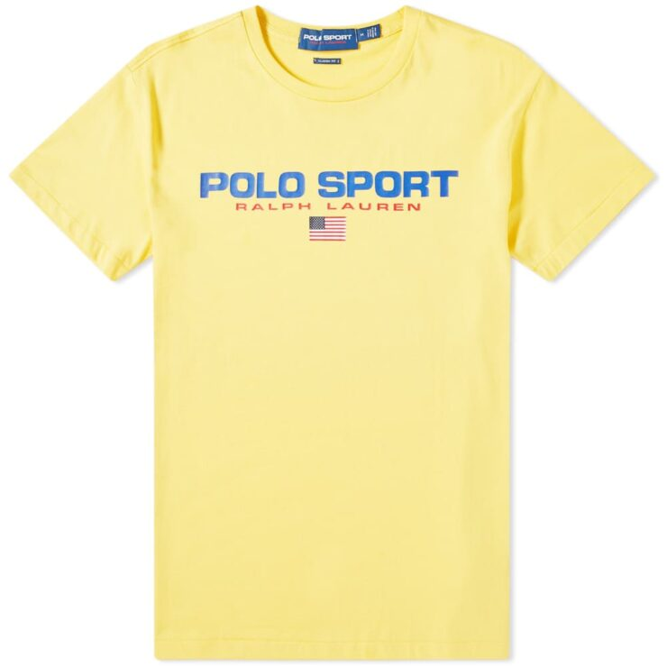 Ralph Lauren Polo Sport T-Shirt in Yellow