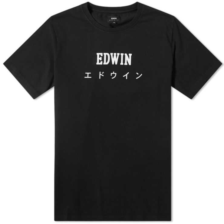 Edwin Japan T-Shirt in Black