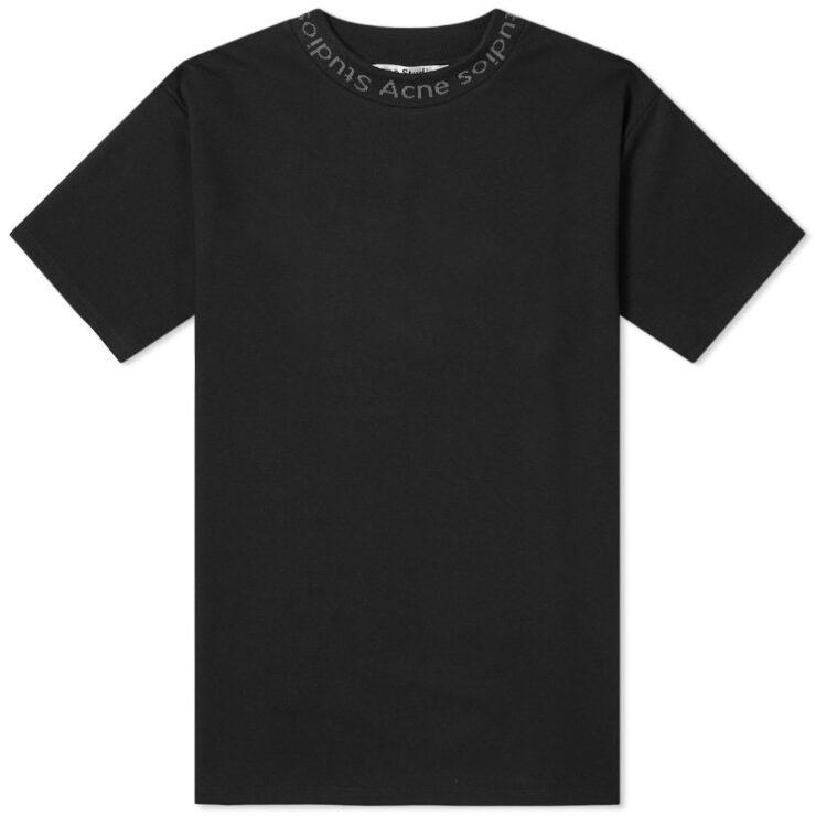 Acne Studios Navid T-Shirt in Black